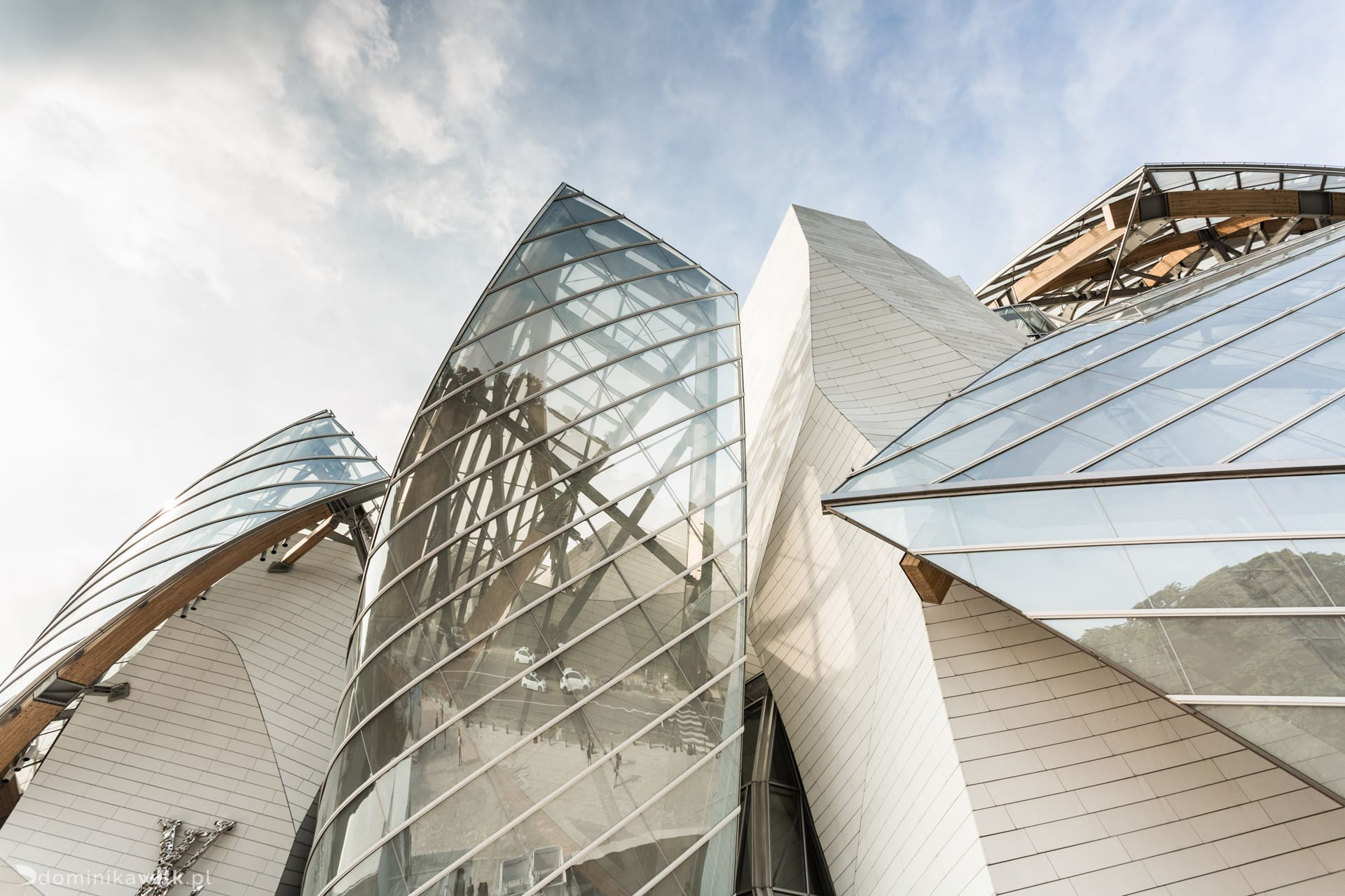 Louis Vuitton Foundation - Paryz - Frank Gehry